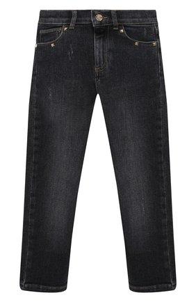 Детские джинсы DOUUOD серого цвета, арт. 20I/U/JR/PJ01/1012/4A-8A | Фото 1