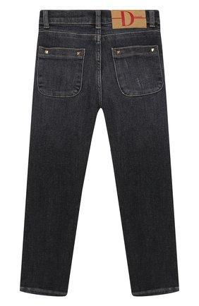 Детские джинсы DOUUOD серого цвета, арт. 20I/U/JR/PJ01/1012/4A-8A | Фото 2
