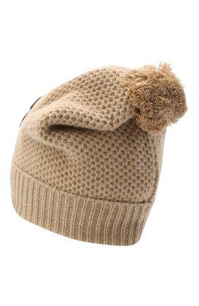 Детского шерстяная шапка DOLCE & GABBANA бежевого цвета, арт. LBKH55/JAM5Z | Фото 2