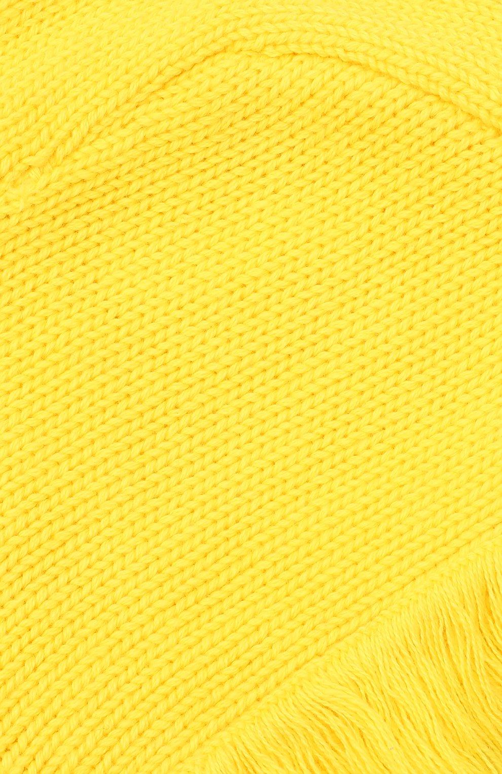 Детский комплект из шапки и варежек STELLA MCCARTNEY темно-синего цвета, арт. 601490/SPM27   Фото 6 (Материал: Текстиль, Хлопок)