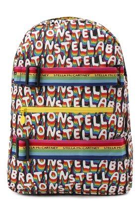 Детская рюкзак STELLA MCCARTNEY разноцветного цвета, арт. 601371/SPK40 | Фото 1