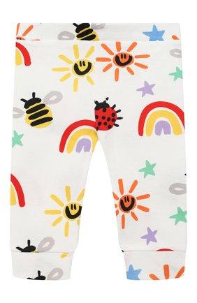 Детские хлопковые джоггеры STELLA MCCARTNEY разноцветного цвета, арт. 601347/SPJ11 | Фото 1
