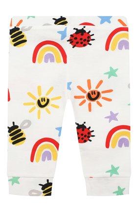 Детские хлопковые джоггеры STELLA MCCARTNEY разноцветного цвета, арт. 601347/SPJ11 | Фото 2