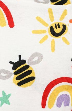 Детские хлопковые джоггеры STELLA MCCARTNEY разноцветного цвета, арт. 601347/SPJ11   Фото 3