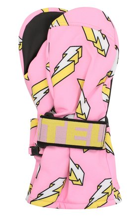 Детские варежки STELLA MCCARTNEY розового цвета, арт. 601245/SPK84 | Фото 1