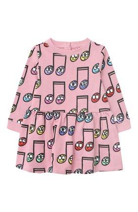 Женский хлопковое платье STELLA MCCARTNEY розового цвета, арт. 601040/SPJ60 | Фото 1