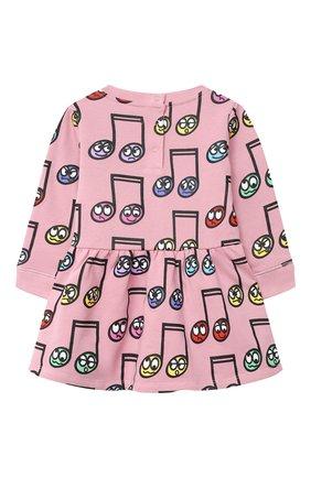 Женский хлопковое платье STELLA MCCARTNEY розового цвета, арт. 601040/SPJ60 | Фото 2