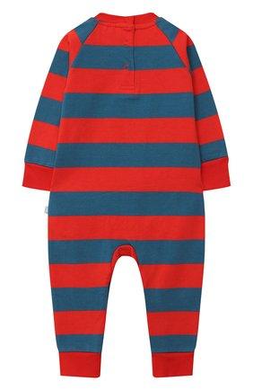 Детский хлопковый комбинезон STELLA MCCARTNEY красного цвета, арт. 601030/SPJ91 | Фото 2