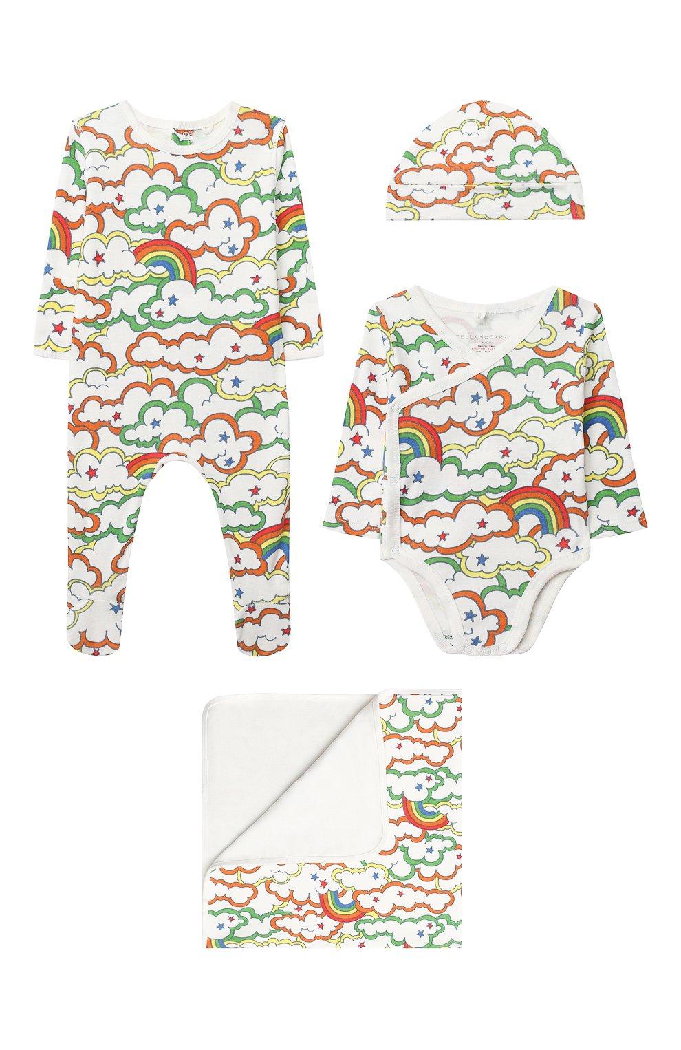 Детский комплект из 4-х предметов STELLA MCCARTNEY разноцветного цвета, арт. 601013/SPJ69 | Фото 1
