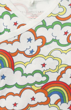 Детский комплект из 4-х предметов STELLA MCCARTNEY разноцветного цвета, арт. 601013/SPJ69 | Фото 7