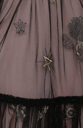 Детское платье ZHANNA & ANNA черного цвета, арт. ZAG021904Black_1   Фото 3