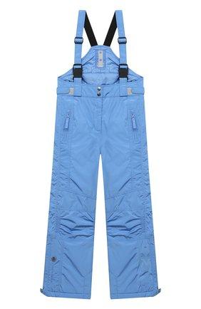 Детские утепленные брюки POIVRE BLANC голубого цвета, арт. 279587   Фото 1