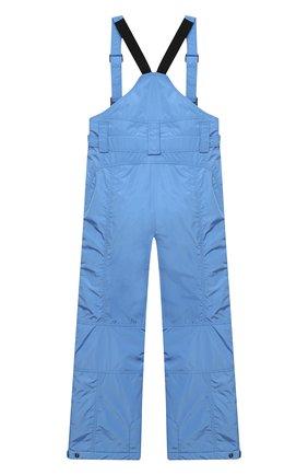 Детские утепленные брюки POIVRE BLANC голубого цвета, арт. 279587   Фото 2