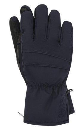 Детские перчатки POIVRE BLANC темно-синего цвета, арт. 279695 | Фото 1