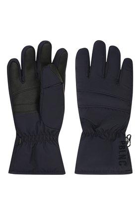 Детские перчатки POIVRE BLANC темно-синего цвета, арт. 279695 | Фото 2