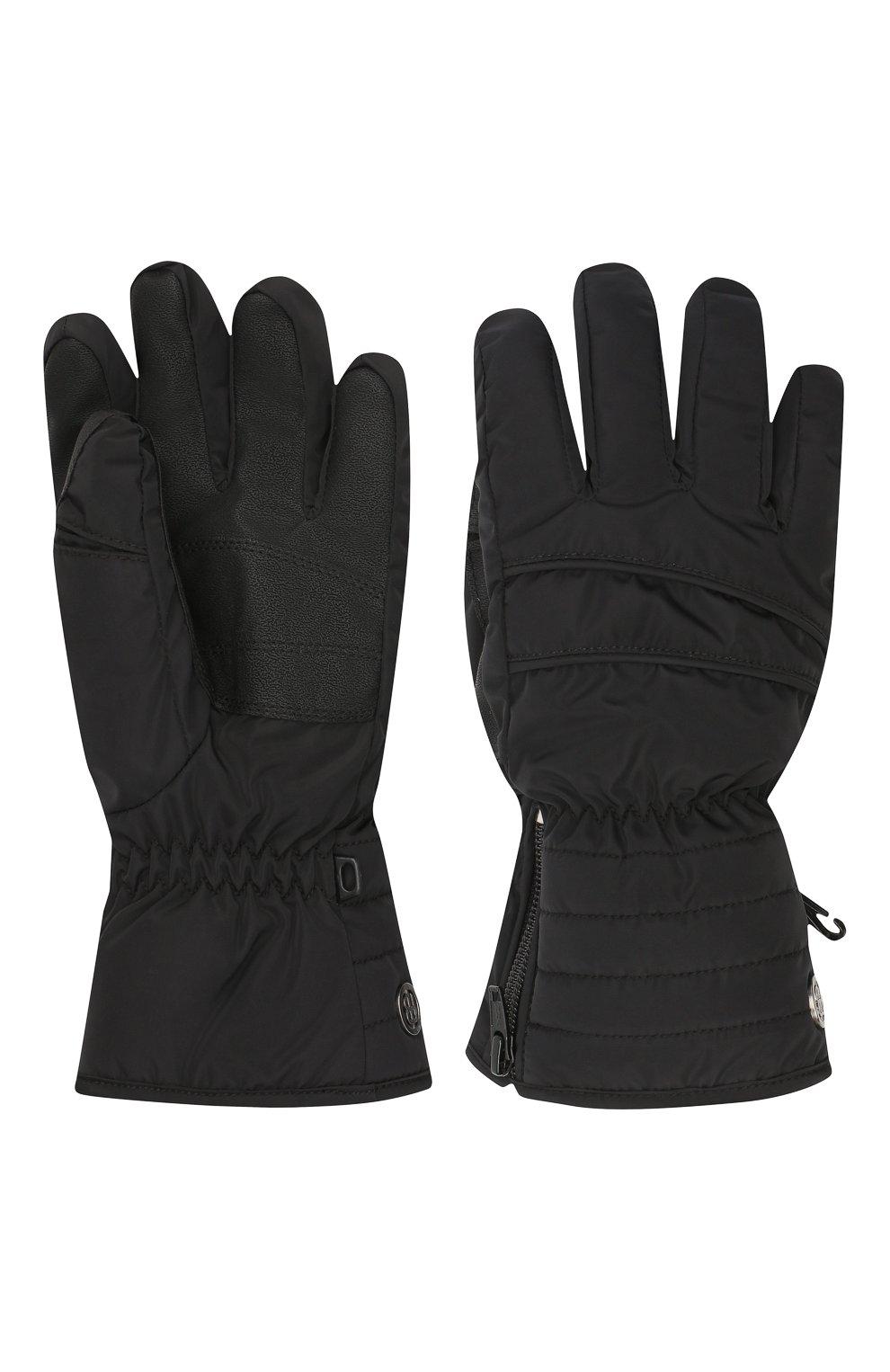Детские перчатки POIVRE BLANC черного цвета, арт. 279694   Фото 2