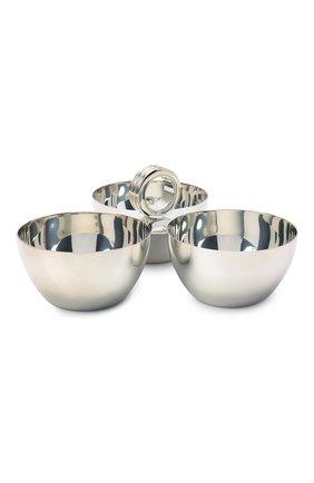 Мужского подставка RALPH LAUREN серебряного цвета, арт. 680556848001 | Фото 1
