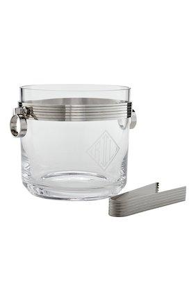 Мужского ведро для льда с щипцами RALPH LAUREN прозрачного цвета, арт. 680624686001 | Фото 1