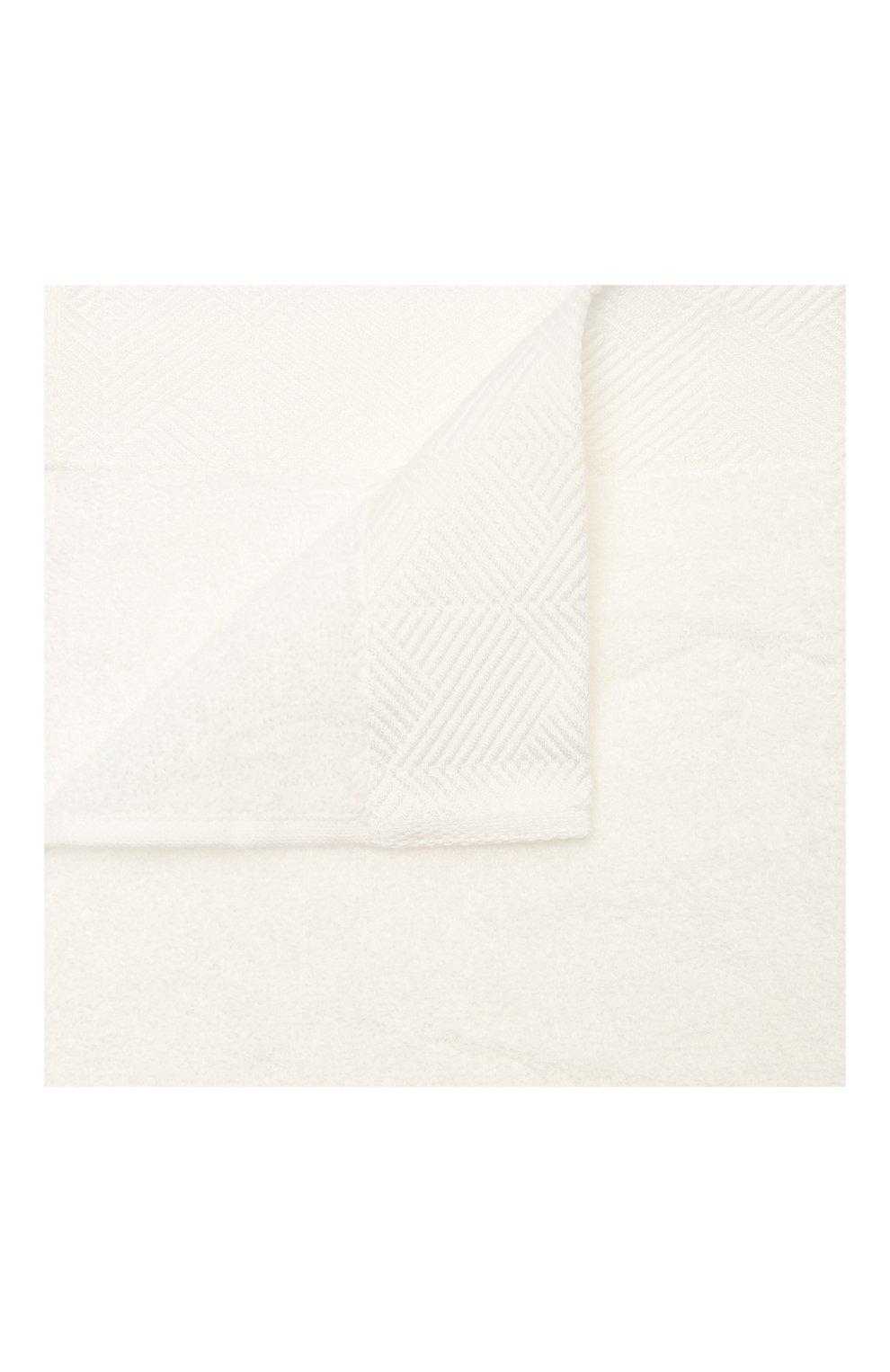 Мужского хлопковое полотенце FRETTE белого цвета, арт. FR6244 D0100 040C | Фото 1