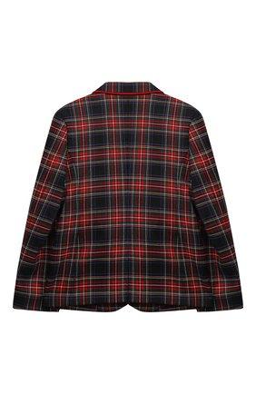 Детский шерстяной пиджак DOLCE & GABBANA разноцветного цвета, арт. L41J63/G7XBD/8-14 | Фото 2