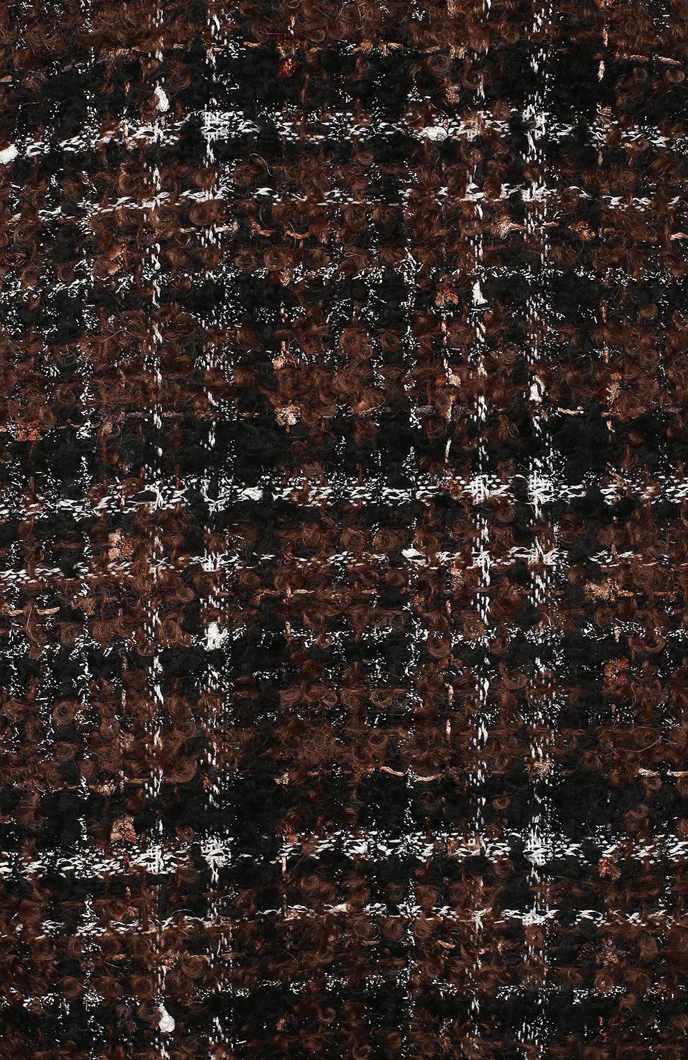 Женский комплект из платья и шорт DOLCE & GABBANA коричневого цвета, арт. L22DP2/FQMHD | Фото 3