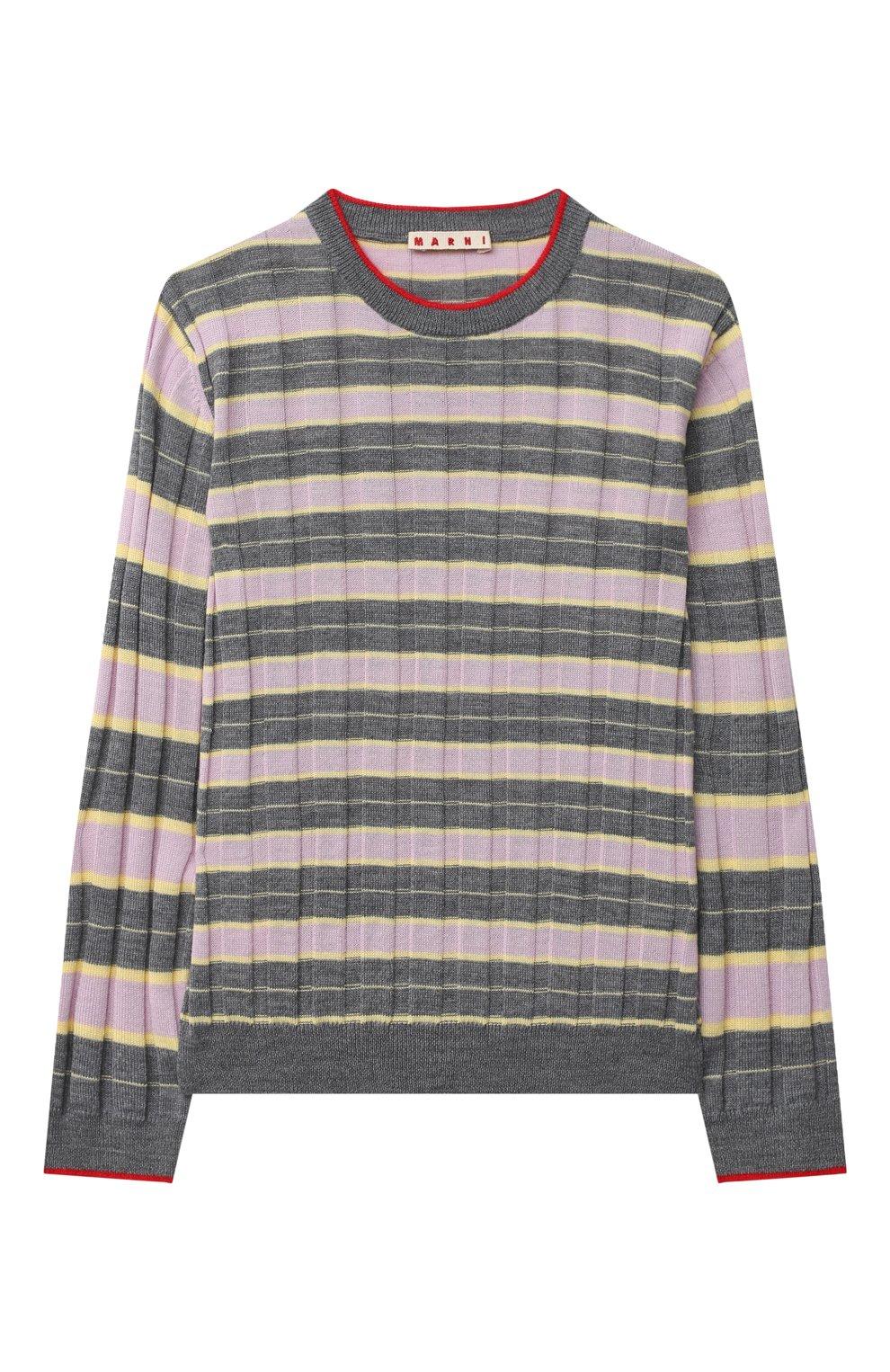 Детский пуловер MARNI серого цвета, арт. M002S7-M00I6   Фото 1