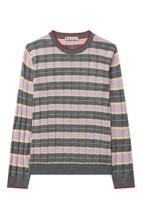 Детский пуловер MARNI серого цвета, арт. M002S7-M00I6 | Фото 1