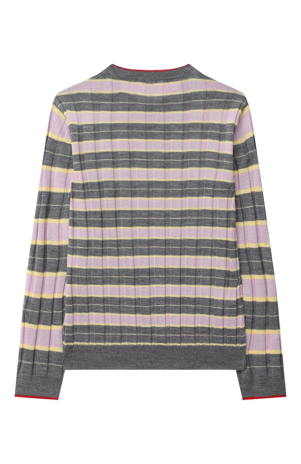Детский пуловер MARNI серого цвета, арт. M002S7-M00I6   Фото 2