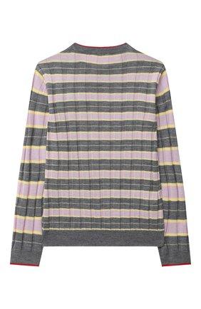 Детский пуловер MARNI серого цвета, арт. M002S7-M00I6 | Фото 2