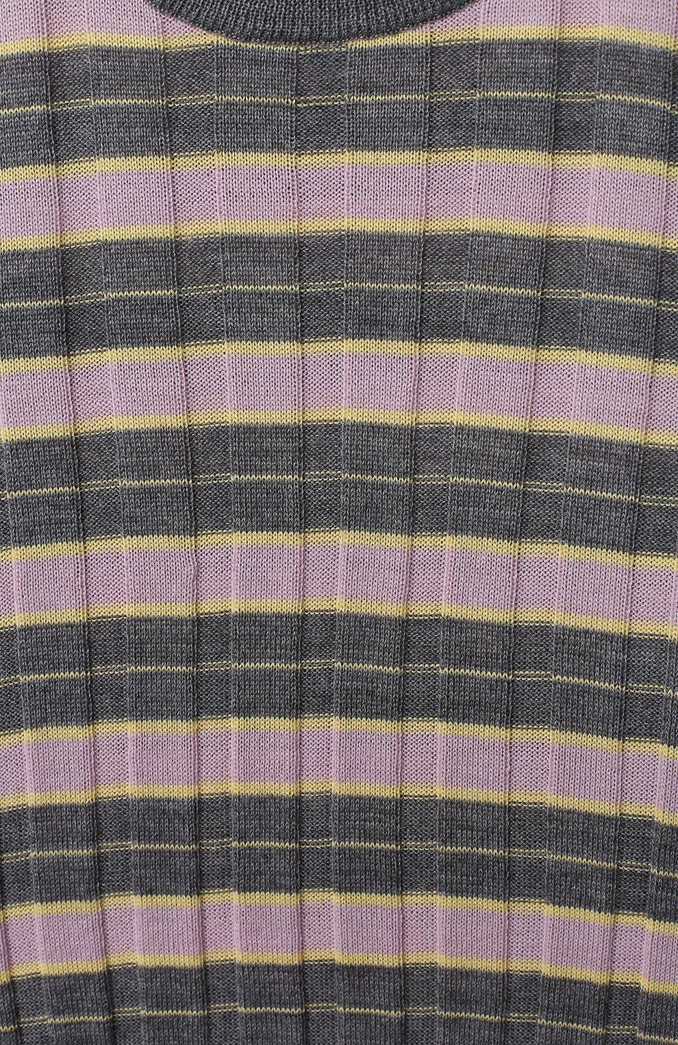 Детский пуловер MARNI серого цвета, арт. M002S7-M00I6   Фото 3