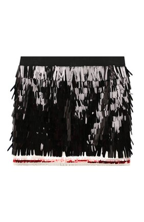 Детская юбка DSQUARED2 черного цвета, арт. DQ04C9-D00Z5   Фото 1