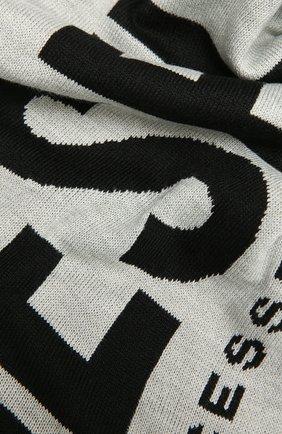 Детский шарф DIESEL серого цвета, арт. 00J529-0NABQ   Фото 2
