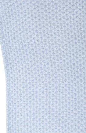 Детский кашемировый шарф GIORGETTI CASHMERE голубого цвета, арт. MB1696/8A   Фото 2