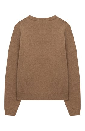 Детский шерстяной пуловер DOLCE & GABBANA темно-коричневого цвета, арт. L5KWA5/JAM9Y/8-14 | Фото 2