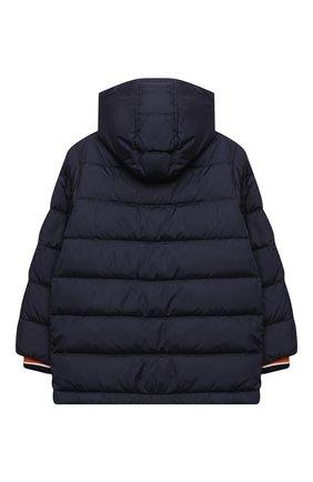 Детский пуховая куртка DOLCE & GABBANA темно-синего цвета, арт. L4JB10/G7XDE/8-14 | Фото 2