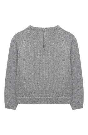 Детский кашемировый пуловер DOLCE & GABBANA серого цвета, арт. L2KWC0/JAW6B | Фото 2