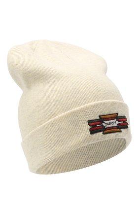Женский шапка из хлопка и шерсти ISABEL MARANT светло-серого цвета, арт. BE0009-20A032A/HART | Фото 1