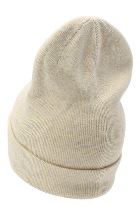 Женский шапка из хлопка и шерсти ISABEL MARANT светло-серого цвета, арт. BE0009-20A032A/HART | Фото 2