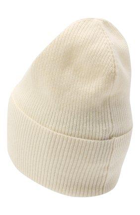 Женский шапка из шерсти и кашемира MONCLER белого цвета, арт. F2-093-9Z746-00-A9363 | Фото 2