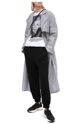 Мужские комбинированный кроссовки ozweego ADIDAS ORIGINALS черного цвета, арт. FV9668 | Фото 2