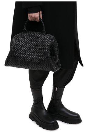 Женская сумка bv handle BOTTEGA VENETA черного цвета, арт. 639301/V01D1 | Фото 2