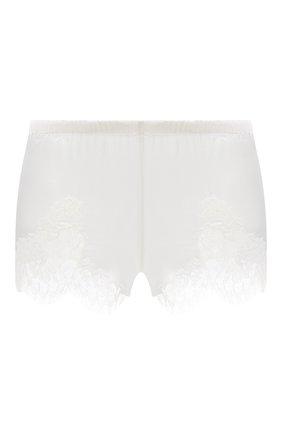 Женские шорты I.D. SARRIERI белого цвета, арт. L3095 | Фото 1