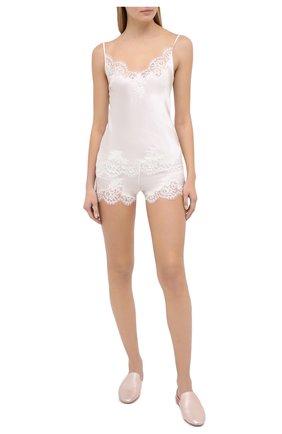 Женские шорты I.D. SARRIERI белого цвета, арт. L3095 | Фото 2