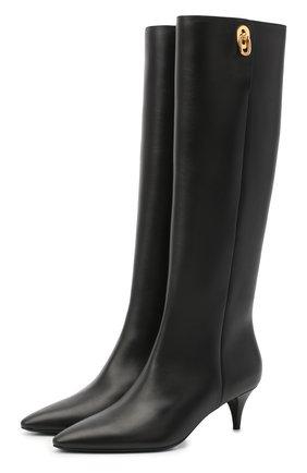 Женские кожаные сапоги TOM FORD черного цвета, арт. W2689T-LCL001 | Фото 1