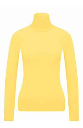 Женская водолазка из вискозы STELLA MCCARTNEY желтого цвета, арт. 601794/S2076 | Фото 1