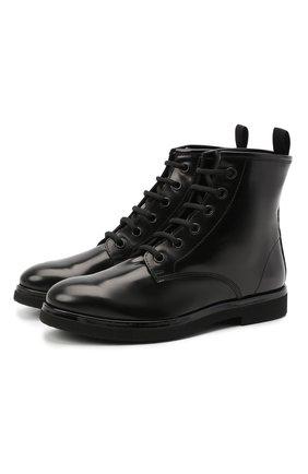Женские кожаные ботинки AGL черного цвета, арт. D721540BNVERM00000 | Фото 1