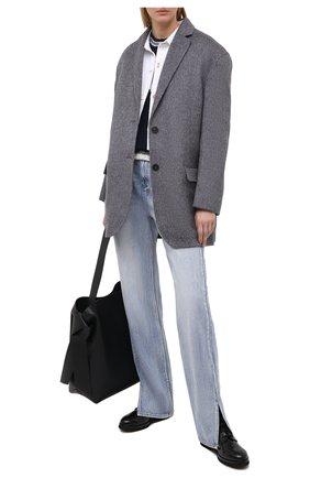 Женские кожаные ботинки AGL черного цвета, арт. D721540BNVERM00000 | Фото 2