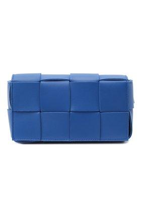 Женская поясная сумка cassette BOTTEGA VENETA синего цвета, арт. 639367/VMAY1 | Фото 1