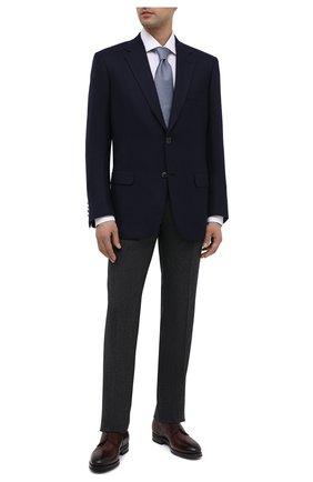Мужской кашемировый пиджак BRIONI темно-синего цвета, арт. RGH00U/09309/PARLAMENT0 | Фото 2