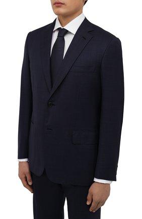 Мужской шерстяной костюм BRIONI синего цвета, арт. RA0J0X/09A0I/BRUNIC0 | Фото 2